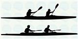 Naklejka na kajak - Toer Race 2, 20x10 cm