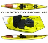 Kajak patrolowy RATOWNIK KSP